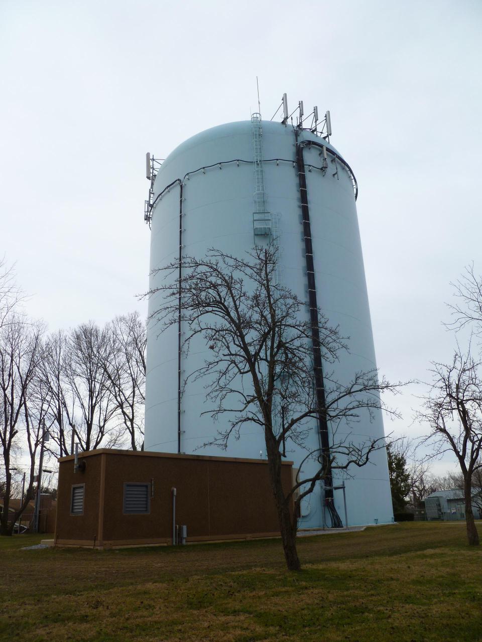 Telecommunications-Water-Tower-