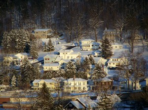 Snow Town of Blosrg Pa by Lonny Frost (2)