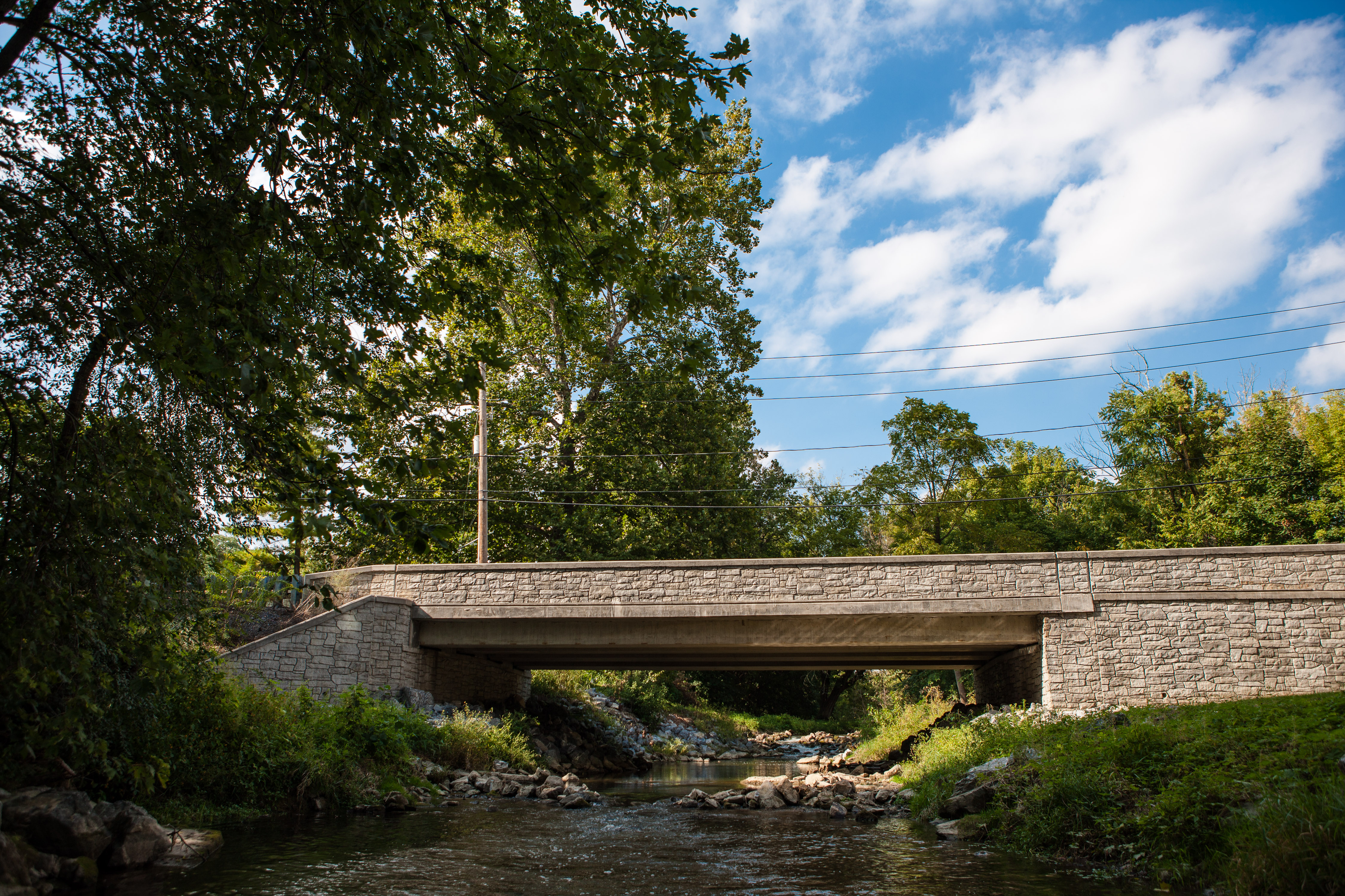 Maintaining and updating transportation infrastructure such as bridges is an important part of municipal engineering.