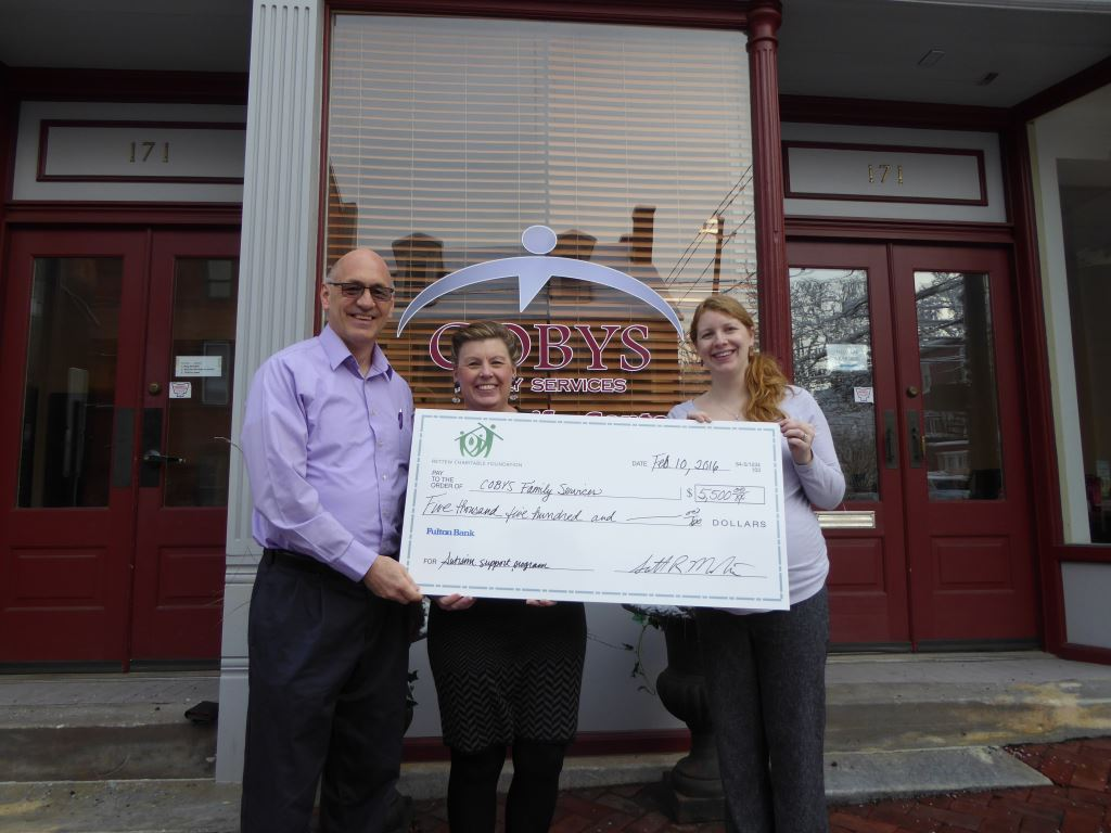 RETTEW Presents $5,500 to COBYS