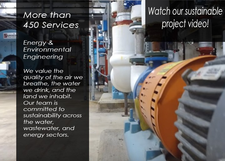 Environmental Engineers committed to sustainability