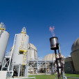 Hermitage Sequencing Tanks Anaerobic Digesters Biogas Flame