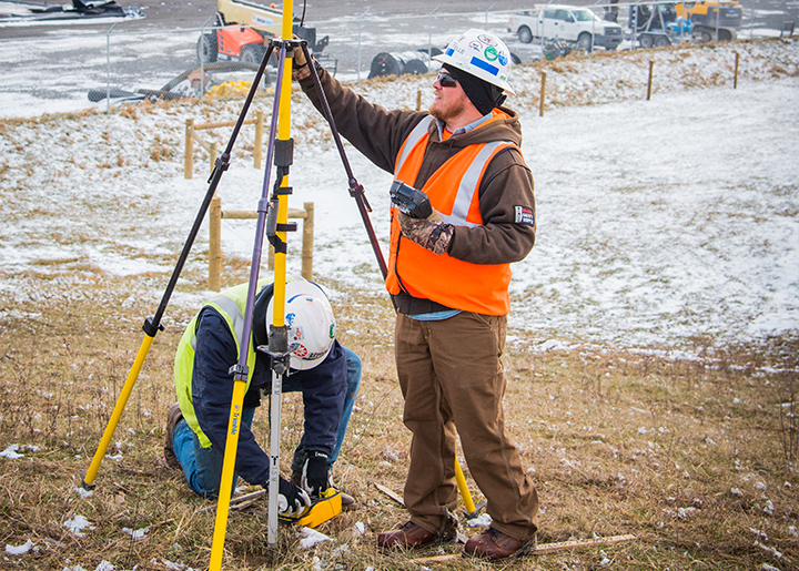 Surveyors ensure the most accurate data for any project.