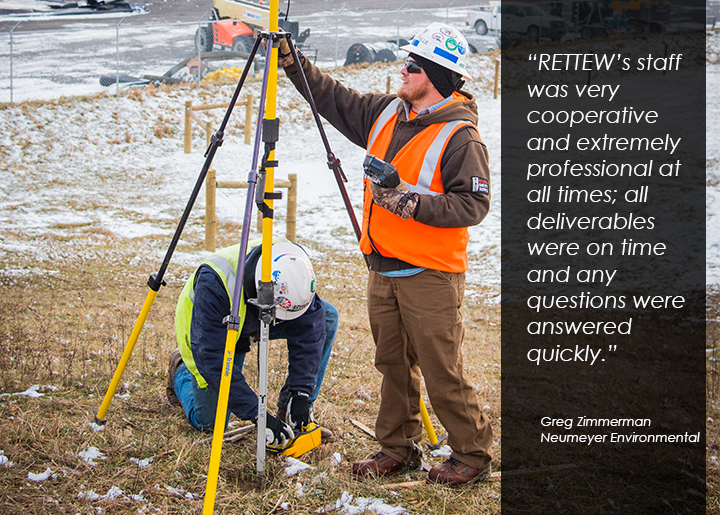 Surveyors make sure project owners get the most accurate data.