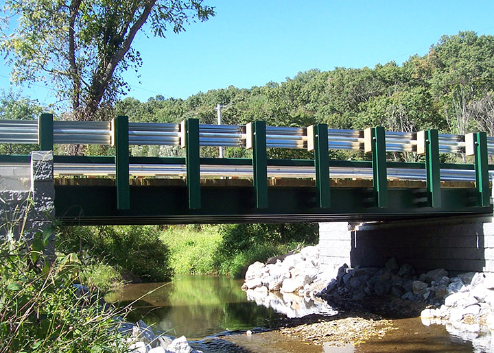 North Hopewell Township completed bridge