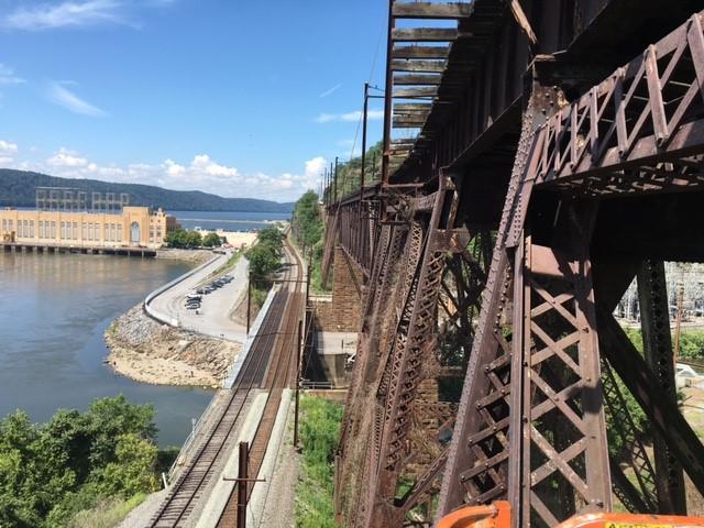 Safe Harbor Railroad Trestle Bridge Inspection