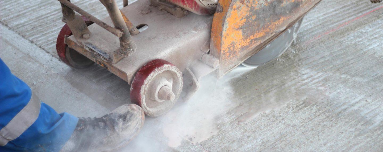 Silica_cutting concrete