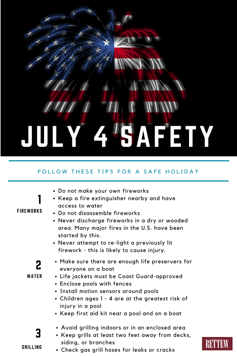 July 4 Safety Tips
